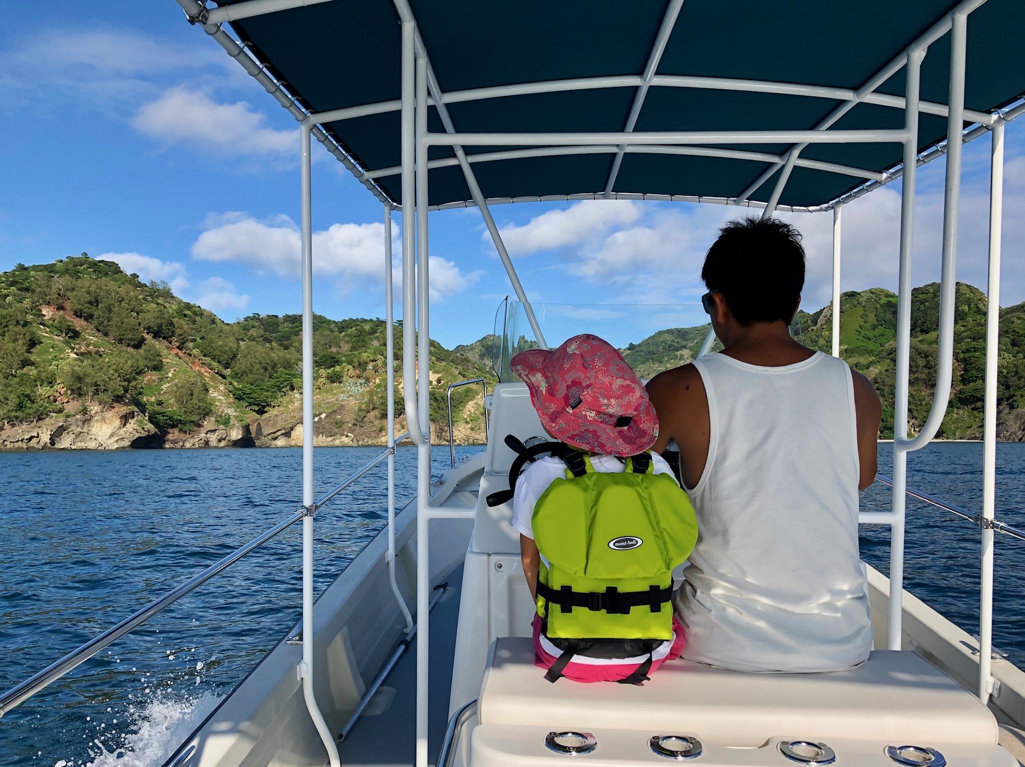 自船でのツアー、開始しました!